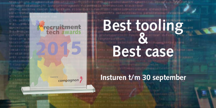Eerste inzendingen Recruitment Tech Awards zijn binnen
