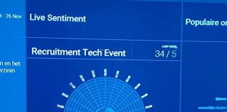 Recruitment Tech Event: Trending en heel veel tweets