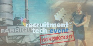 Recruitment Tech Event 2015 is uitverkocht