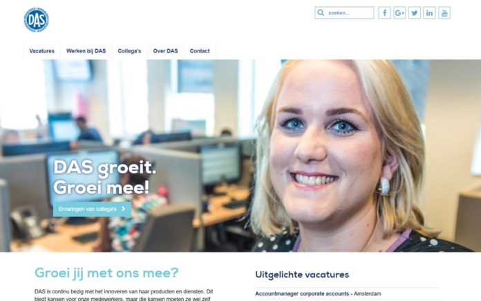 DAS: 'Nieuwe recruitmentsite biedt een echte kijk in de keuken'