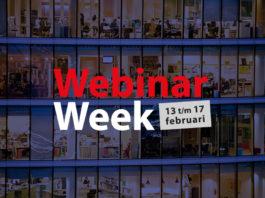 Volg vrijdag 17 februari 5 webinars over data en tech tijdens Webinar Week