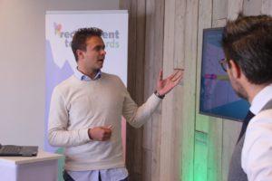 Joep Hermsen en Maarten Bokhoven van ABN Amro