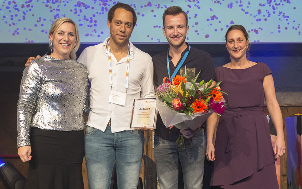 Olympia en OnRecruit winnen Recruitment Tech Awards 2017