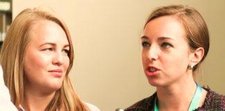 Elena en Olga van VCV over interviews door een 'robot-recruiter'