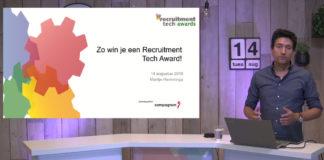 Replay webinar Zo win je een Recruitment Tech Award