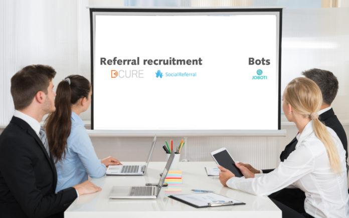 Recruitment Tech Landscape: een blik op de leveranciers van referral recruitment & bots