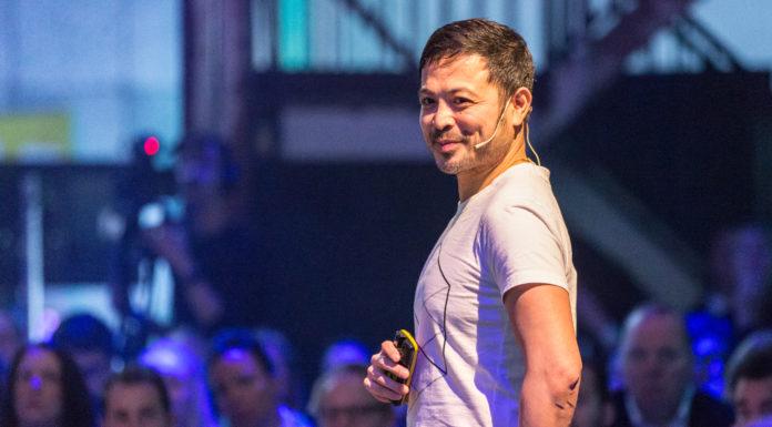 """Keynote speaker Hung Lee: """"Technologie verandert en wij als gebruikers moeten mee veranderen"""""""
