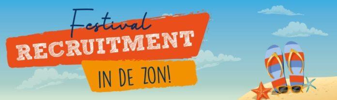 Festival Recruitment in de zon!