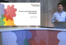 Inzenden Recruitment Tech Awards 2019? Bekijk de tips in deze video