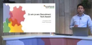 Inzenden Recruitment Tech Awards 2019? Bekijk de tips in deze video