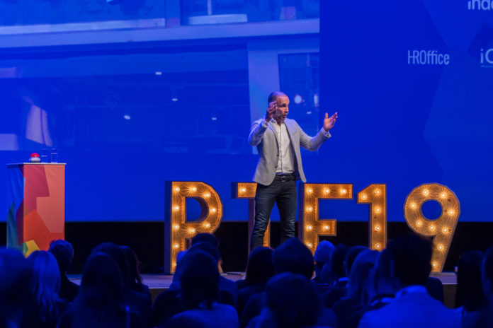 Richard van Hooijdonk, plenaire keynote op het Recruitment Tech Event 2019