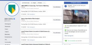 """Facebook gaat Google for Jobs achterna en plaatst vacatures: """"Dit wordt groots"""""""